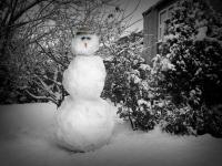 Британка се оплаква в полицията за откраднат снежен човек
